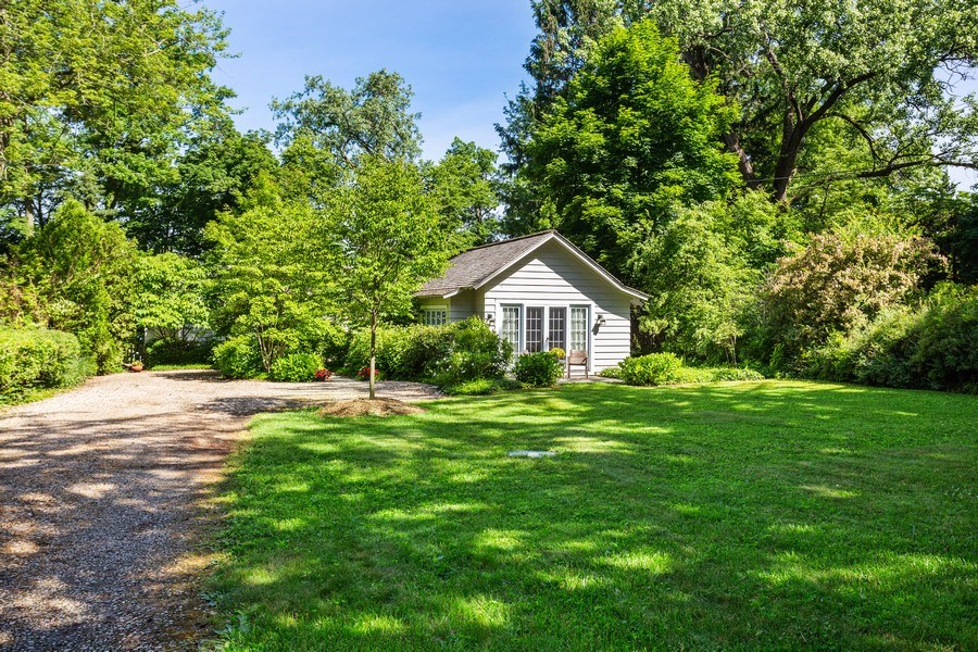 Real Estate Photography - 15120 Lakeshore Road, Lakeside, MI, 49116 - Front Yard View