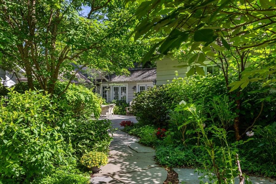 Real Estate Photography - 15120 Lakeshore Road, Lakeside, MI, 49116 - Pathway to Courtyard