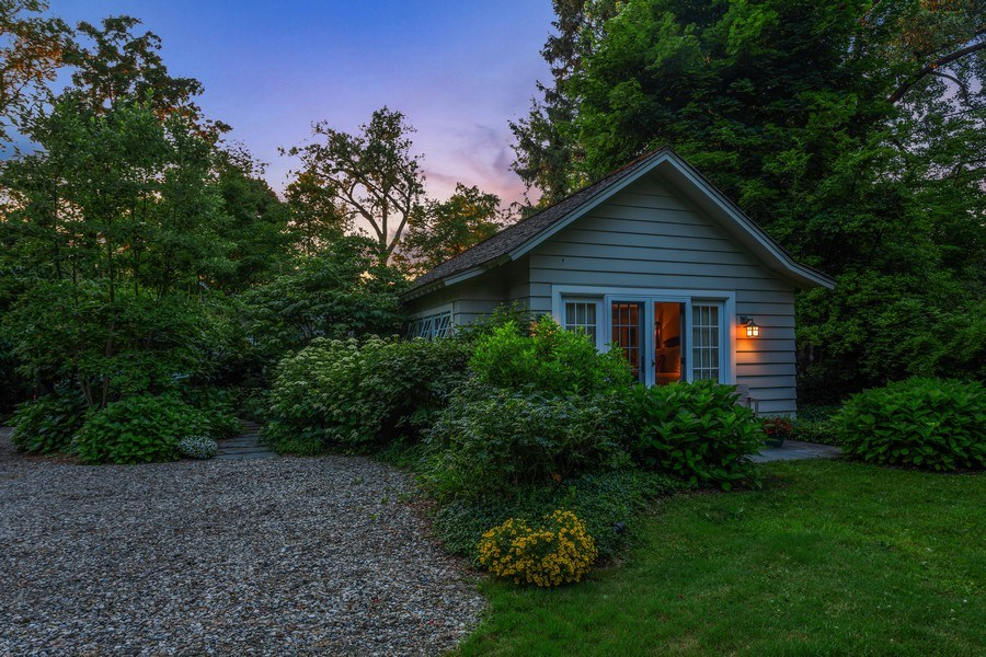 Real Estate Photography - 15120 Lakeshore Road, Lakeside, MI, 49116 - View from Drive