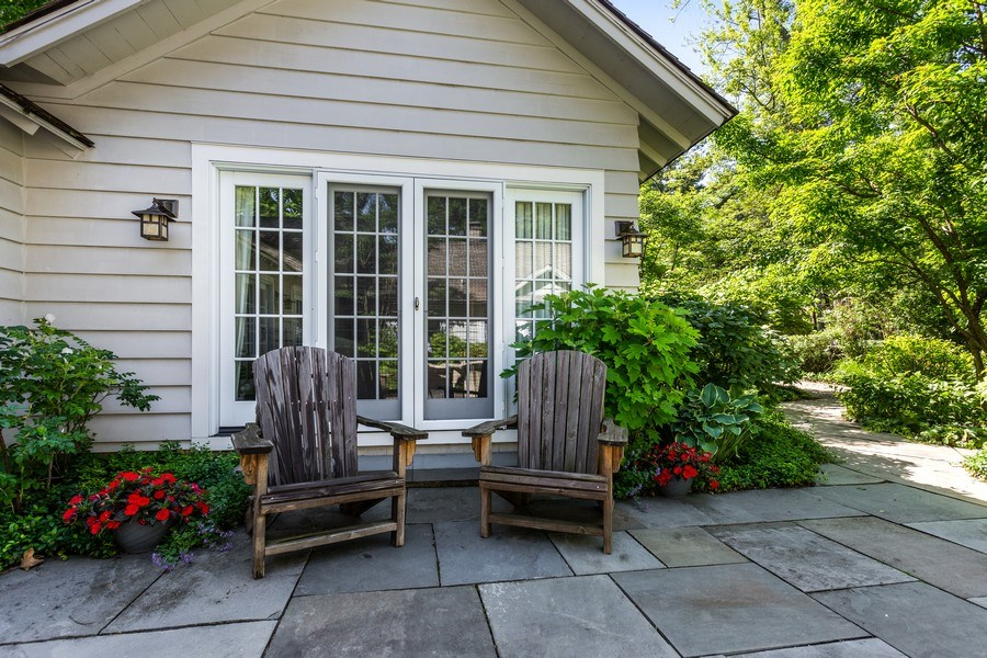 Real Estate Photography - 15120 Lakeshore Road, Lakeside, MI, 49116 - Master Bedroom Patio