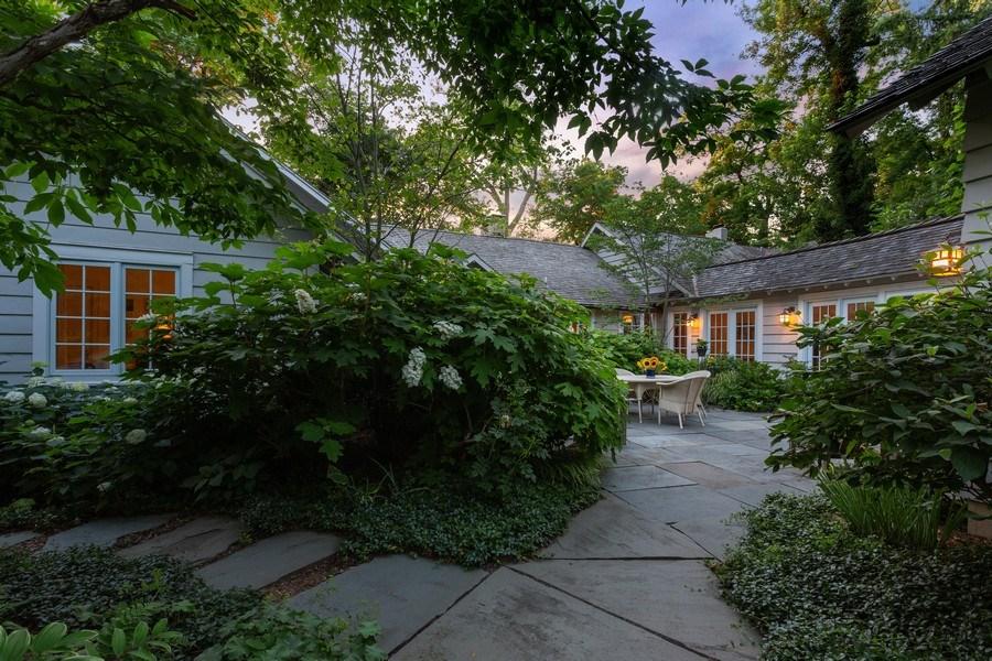 Real Estate Photography - 15120 Lakeshore Road, Lakeside, MI, 49116 - Courtyard Entry
