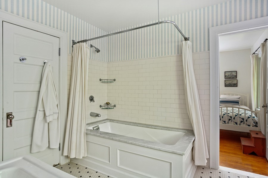 Real Estate Photography - 15120 Lakeshore Road, Lakeside, MI, 49116 - Full Bathroom  #3