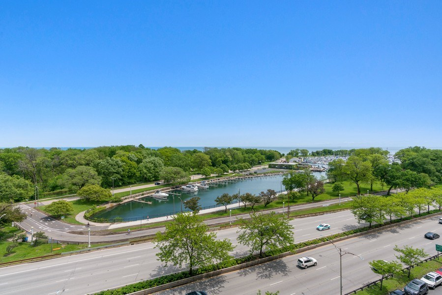 Real Estate Photography - 3530 N. Lake Shore, #8A, Chicago, IL, 60657 - View