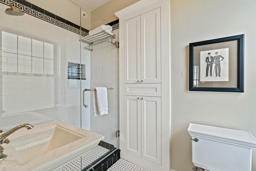 Real Estate Photography - 3530 N. Lake Shore, #8A, Chicago, IL, 60657 - Bathroom
