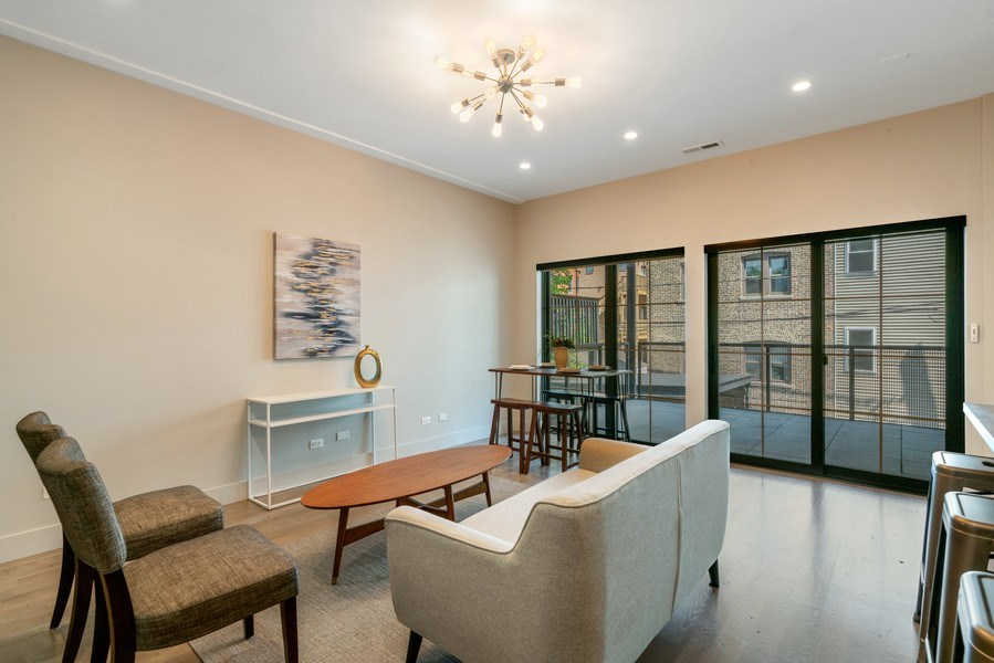 Real Estate Photography - 1902 W. Division, #2N, Chicago, IL, 60622 - Living Room