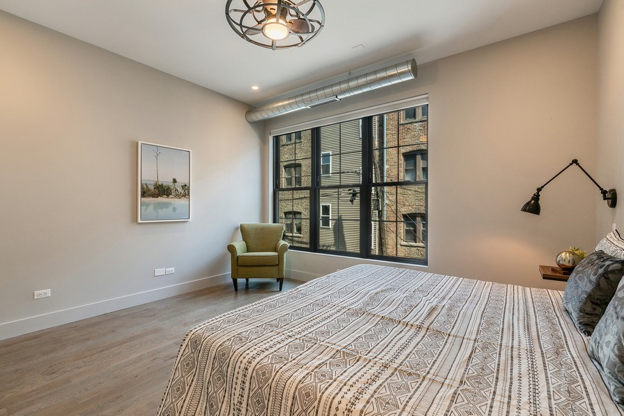 Real Estate Photography - 1904 W. Division, #2N, Chicago, IL, 60622 - Master Bedroom