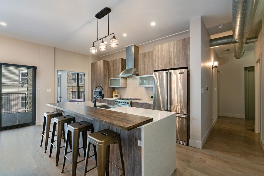 Real Estate Photography - 1902 W. Division, #2N, Chicago, IL, 60622 - Kitchen