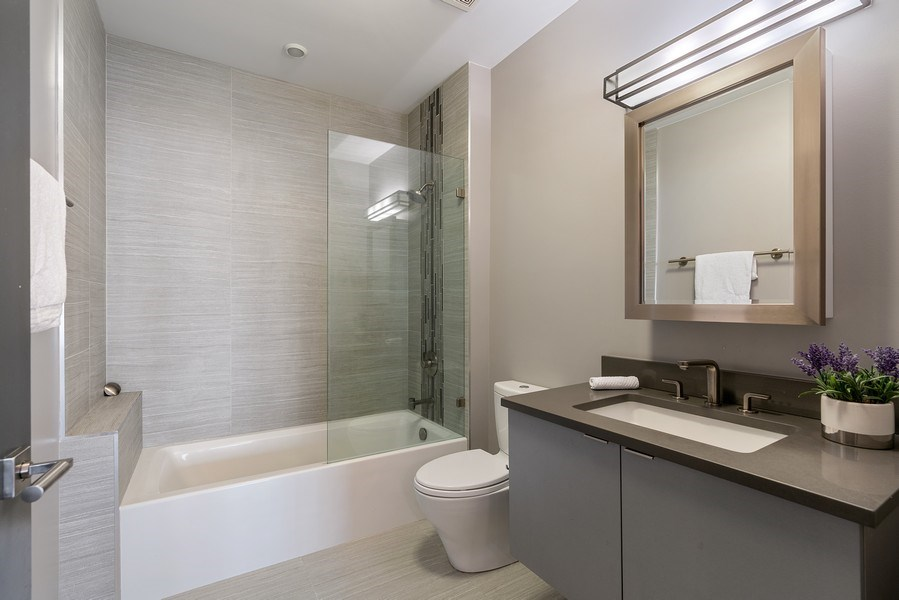 Real Estate Photography - 1902 W. Division, #2N, Chicago, IL, 60622 - Bathroom