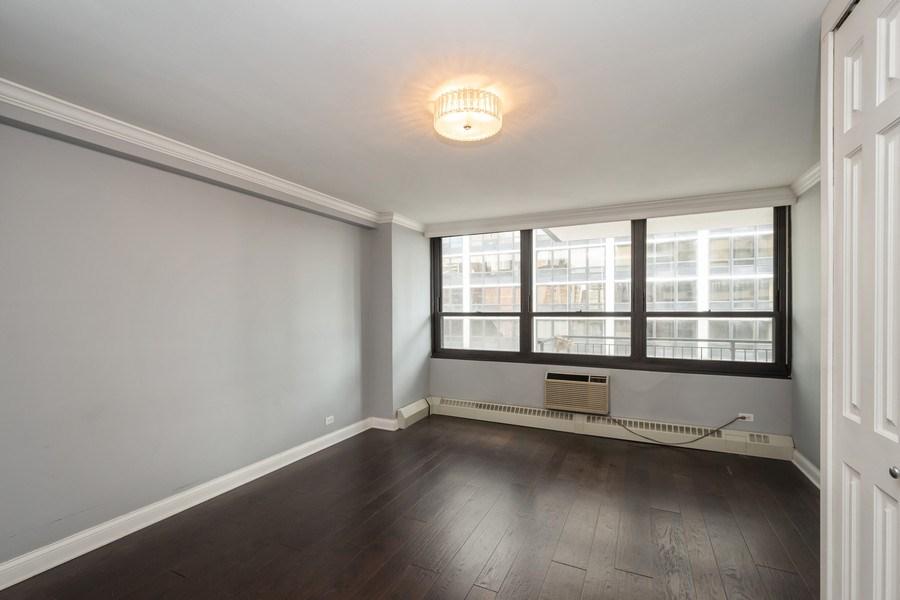 Real Estate Photography - 33 E Cedar, Unit 11 A, Chicago, IL, 60611 - Bedroom