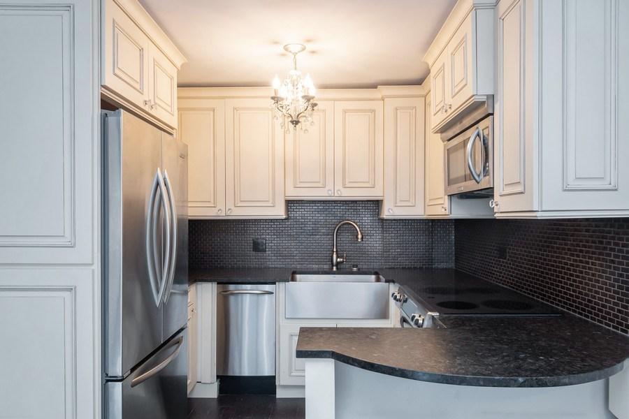 Real Estate Photography - 33 E Cedar, Unit 11 A, Chicago, IL, 60611 - Kitchen