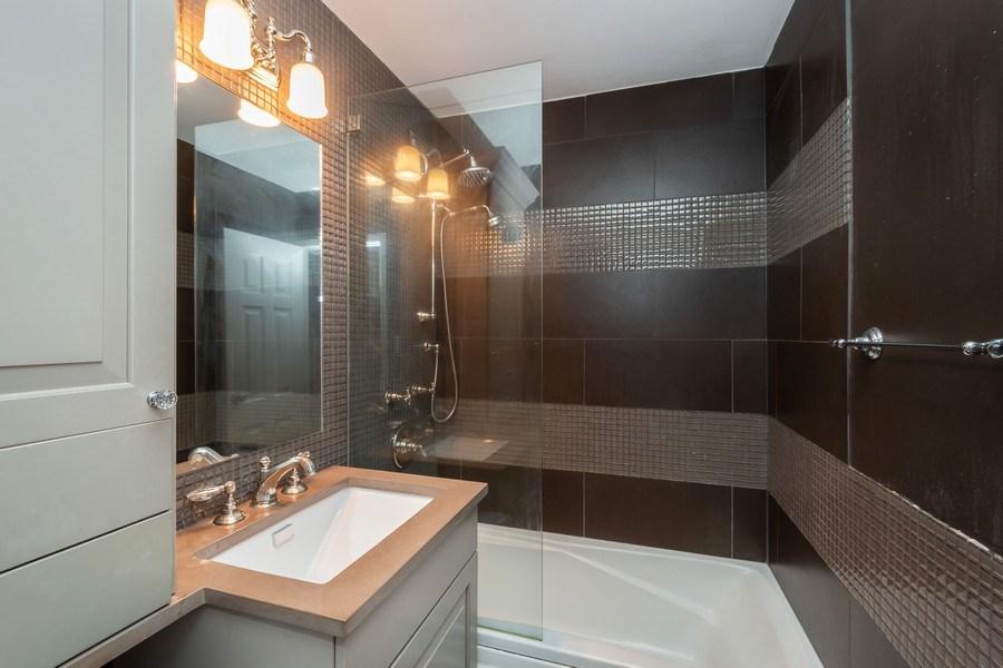 Real Estate Photography - 33 E Cedar, Unit 11 A, Chicago, IL, 60611 - Bathroom