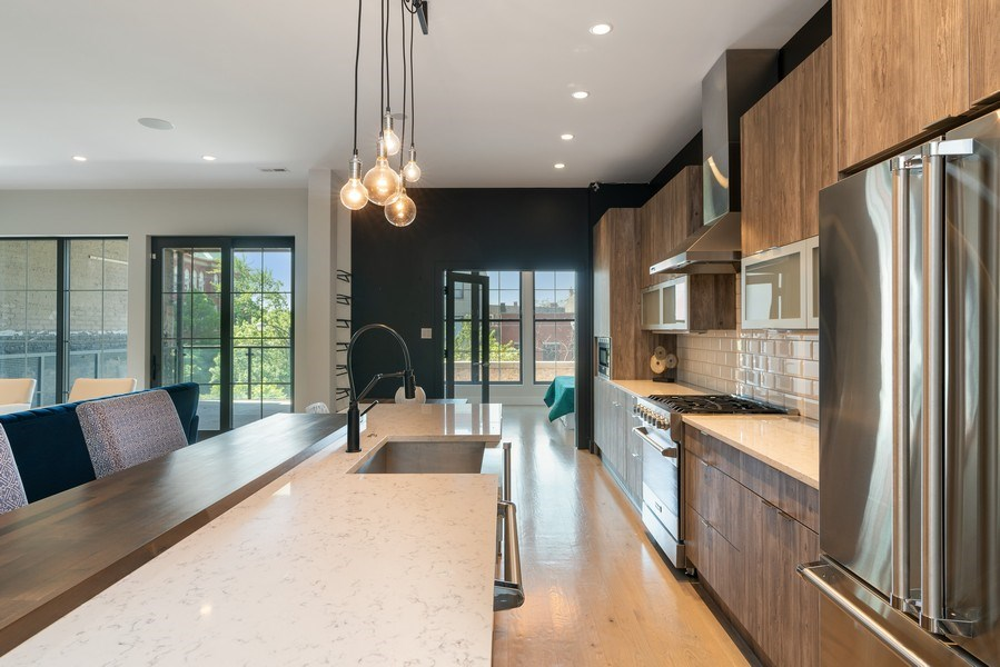 Real Estate Photography - 1904 W. Division, #3S, Chicago, IL, 60622 - Kitchen