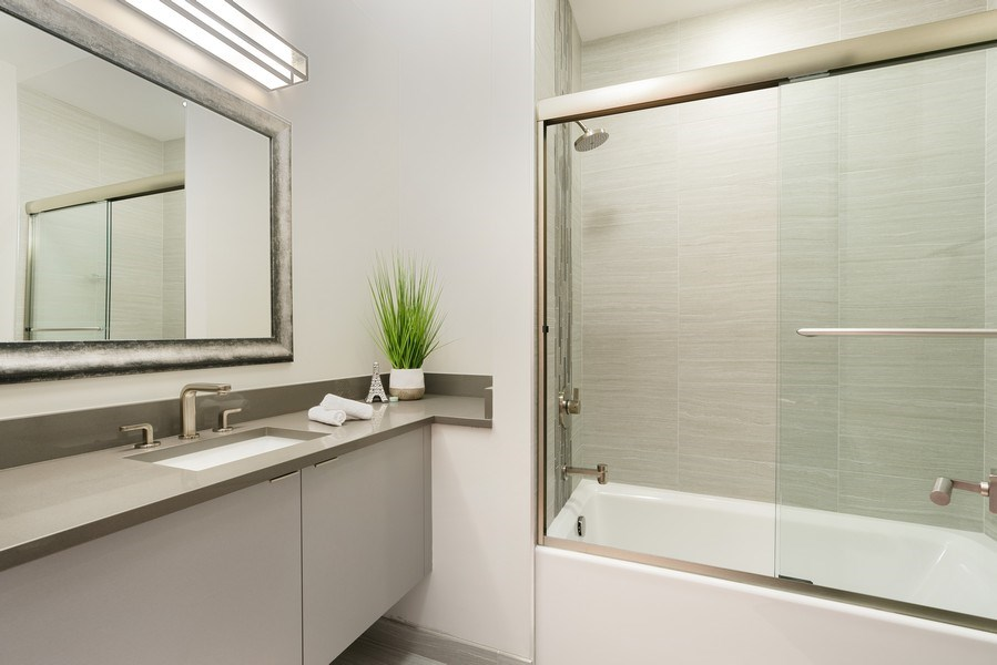 Real Estate Photography - 1904 W. Division, #3S, Chicago, IL, 60622 - Bathroom