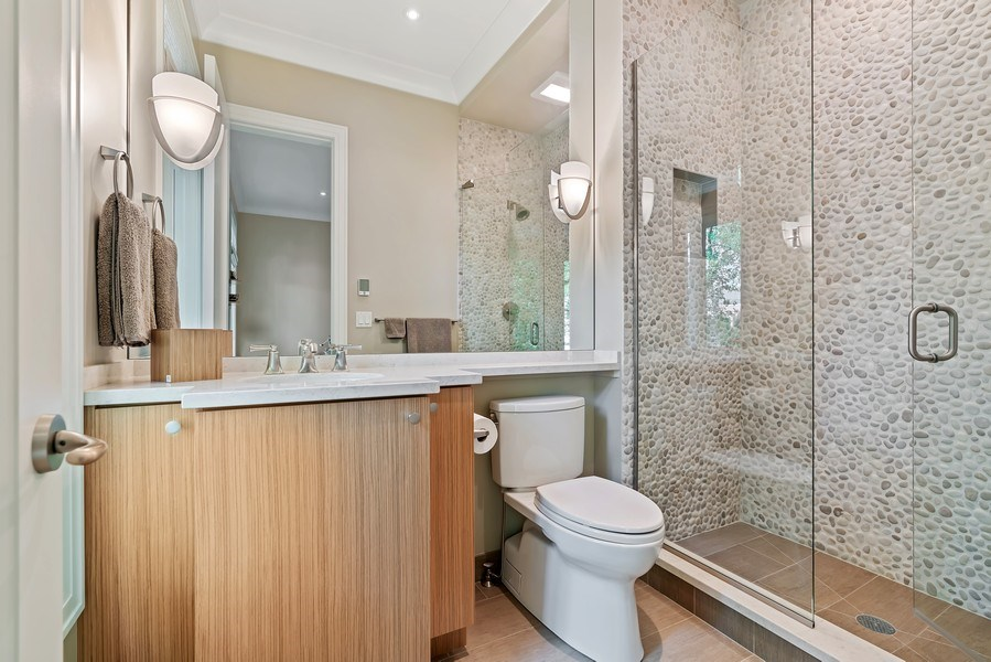 Real Estate Photography - 1905 N. Howe, Chicago, IL, 60614 - 3rd Bathroom