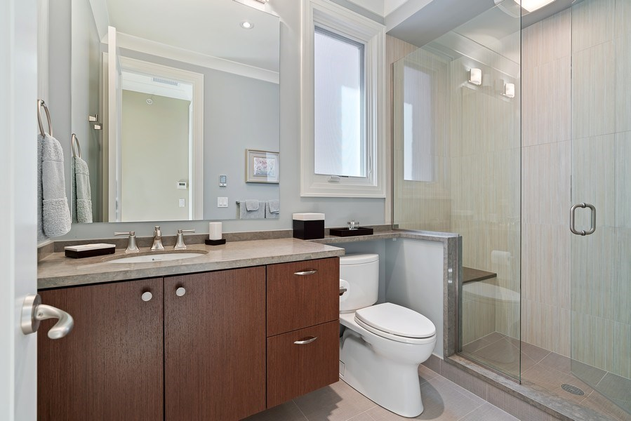 Real Estate Photography - 1905 N. Howe, Chicago, IL, 60614 - 4th Bathroom