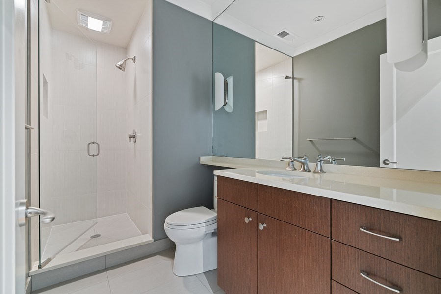 Real Estate Photography - 1905 N. Howe, Chicago, IL, 60614 - 5th Bathroom