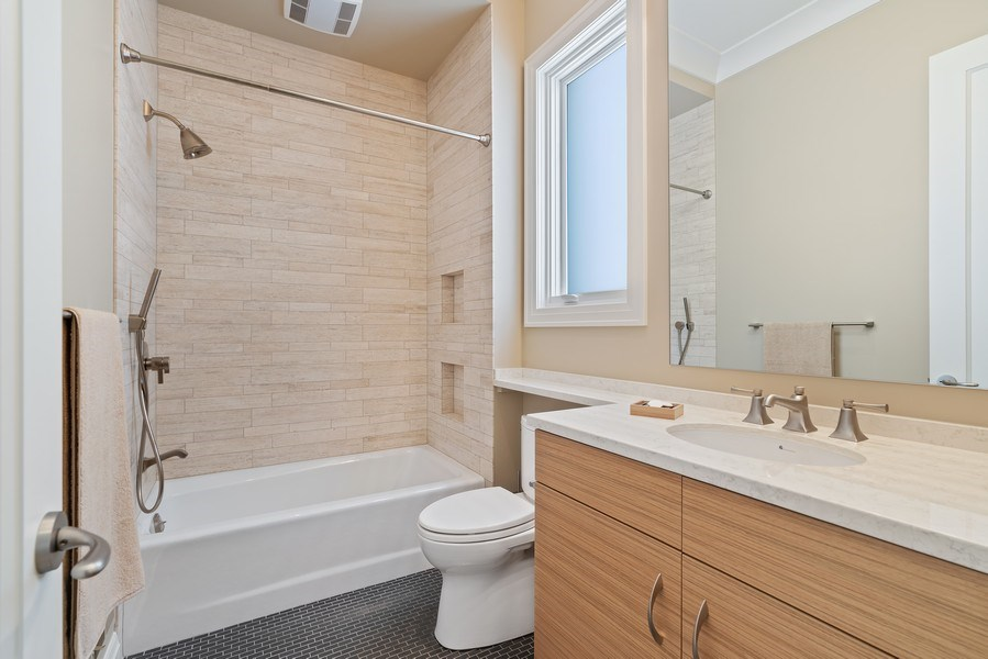 Real Estate Photography - 1905 N. Howe, Chicago, IL, 60614 - 2nd Bathroom
