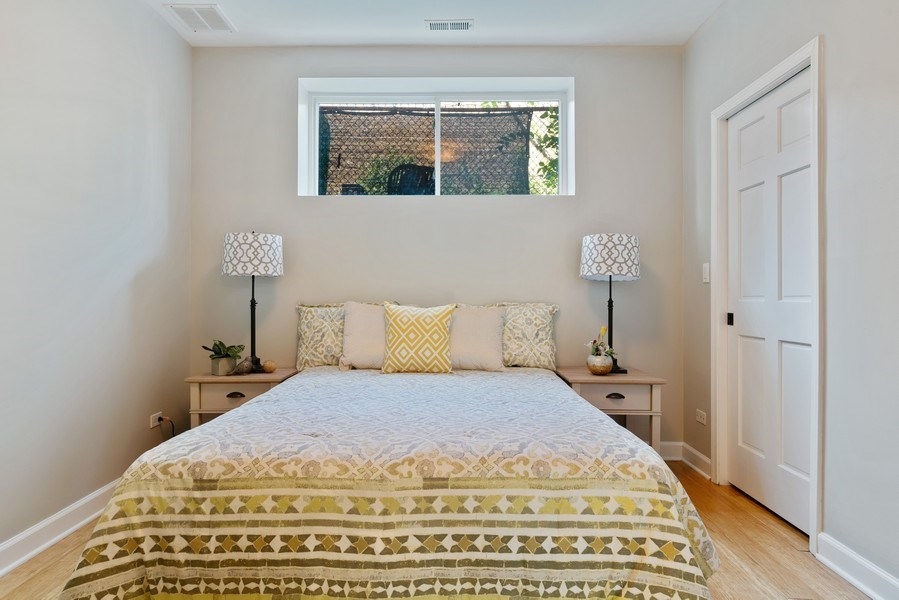 Real Estate Photography - 958 N. Wood, #A, Chicago, IL, 60622 - 3rd Bedroom