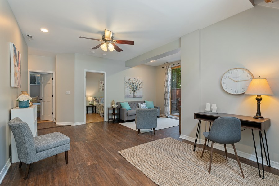 Real Estate Photography - 958 N. Wood, #A, Chicago, IL, 60622 - Lower Level