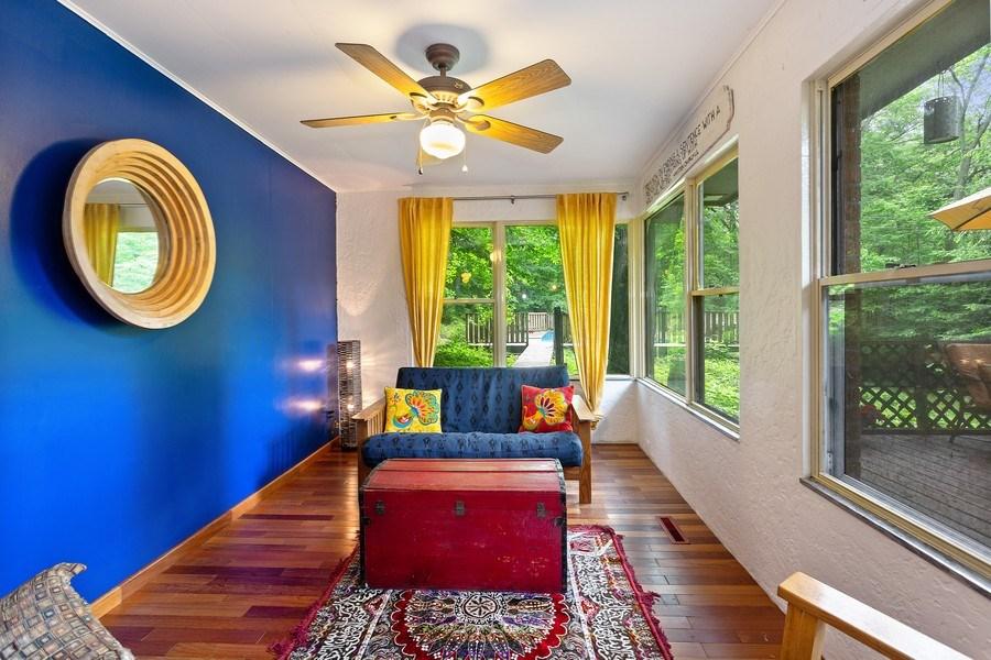 Real Estate Photography - 9715 Evergreen Drive, Bridgman, MI, 49106 - Living Room