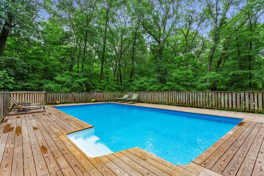 Real Estate Photography - 9715 Evergreen Drive, Bridgman, MI, 49106 - Pool