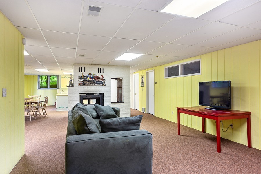 Real Estate Photography - 9715 Evergreen Drive, Bridgman, MI, 49106 - Family Room