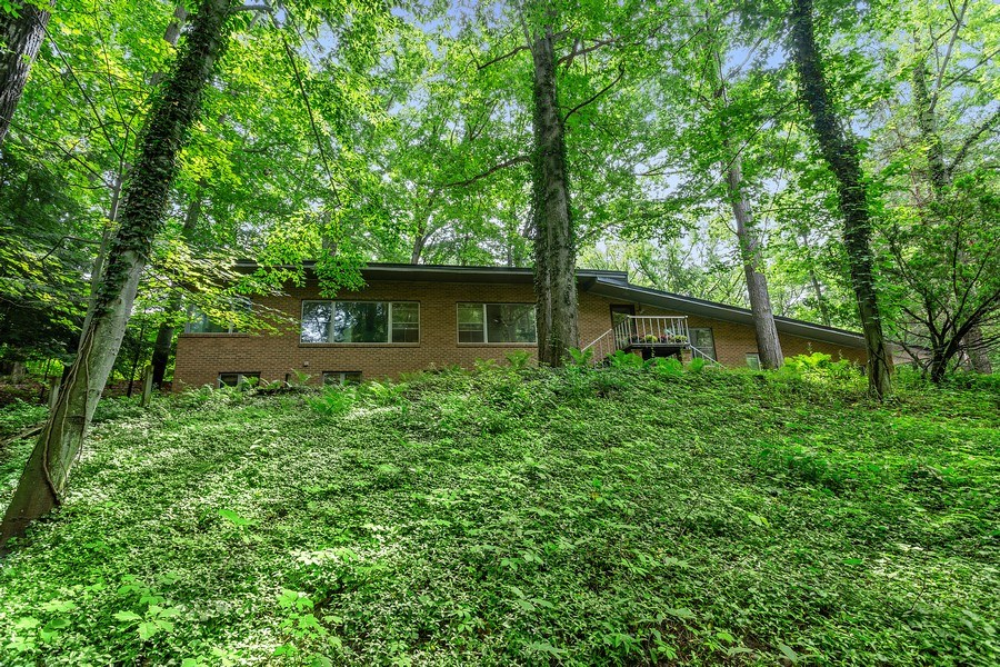 Real Estate Photography - 9715 Evergreen Drive, Bridgman, MI, 49106 - Front View From Street