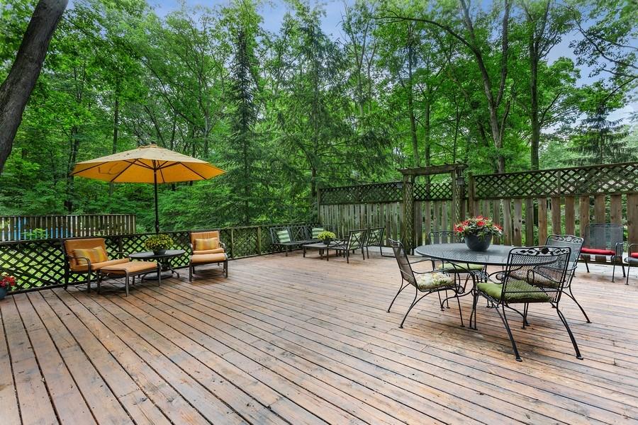 Real Estate Photography - 9715 Evergreen Drive, Bridgman, MI, 49106 - Deck