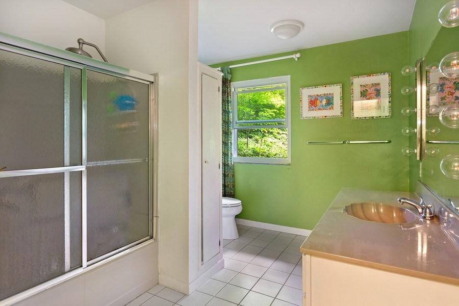 Real Estate Photography - 9715 Evergreen Drive, Bridgman, MI, 49106 - Bathroom