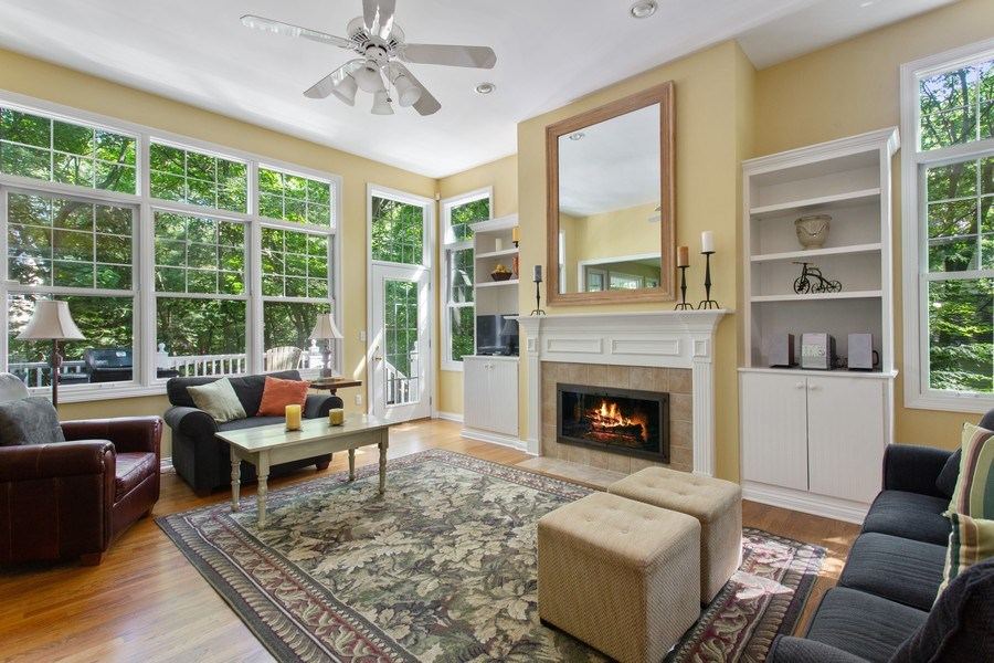 Real Estate Photography - 18636 Forest Beach Drive, New Buffalo, MI, 49117 - Living Room