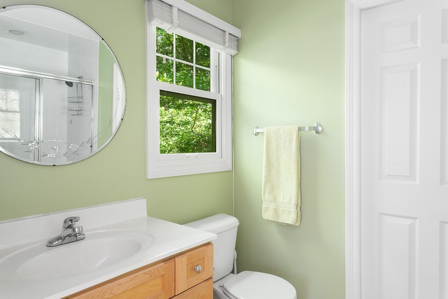 Real Estate Photography - 18636 Forest Beach Drive, New Buffalo, MI, 49117 - Master Bathroom