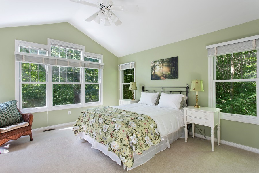 Real Estate Photography - 18636 Forest Beach Drive, New Buffalo, MI, 49117 - Master Bedroom