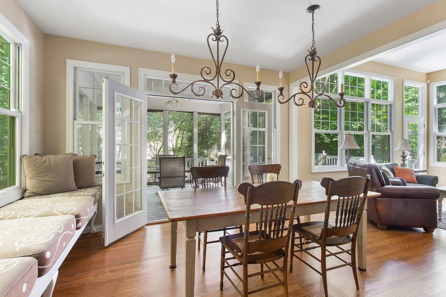 Real Estate Photography - 18636 Forest Beach Drive, New Buffalo, MI, 49117 - Dining Room