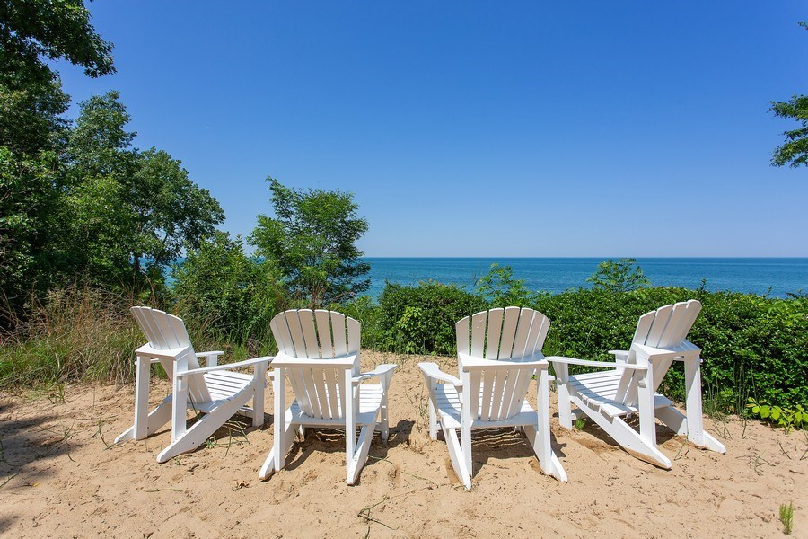 Real Estate Photography - 18636 Forest Beach Drive, New Buffalo, MI, 49117 - Forest Beach Lake View