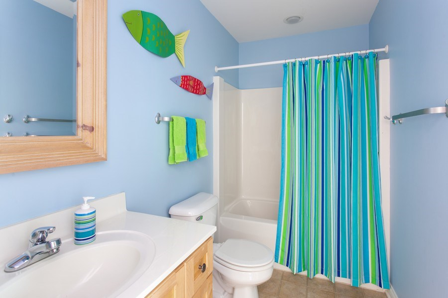 Real Estate Photography - 18636 Forest Beach Drive, New Buffalo, MI, 49117 - 2nd Full Bathroom