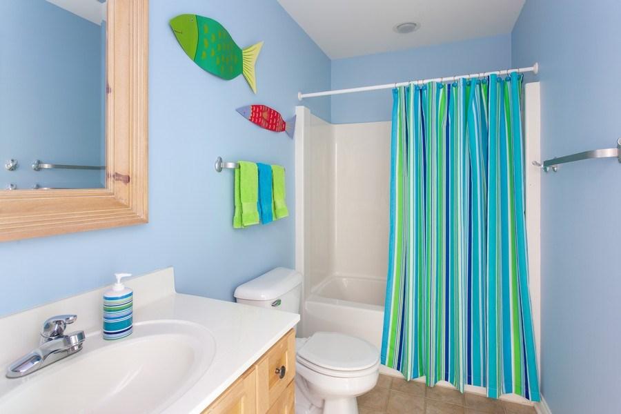 Real Estate Photography - 18636 Forest Beach Drive, New Buffalo, MI, 49117 - 2nd Full Bathroom