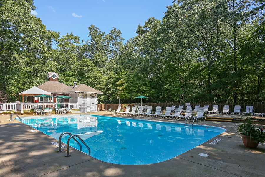 Real Estate Photography - 18636 Forest Beach Drive, New Buffalo, MI, 49117 - Forest Beach Community Pool