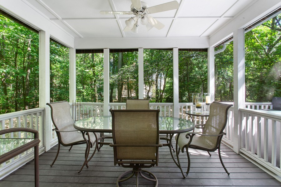 Real Estate Photography - 18636 Forest Beach Drive, New Buffalo, MI, 49117 - Screen Porch