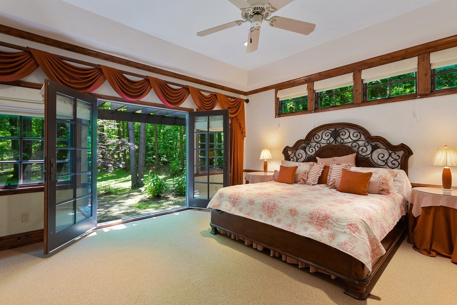 Real Estate Photography - 7020 Youngren Rd, Three Oaks, MI, 49128 - Master Bedroom