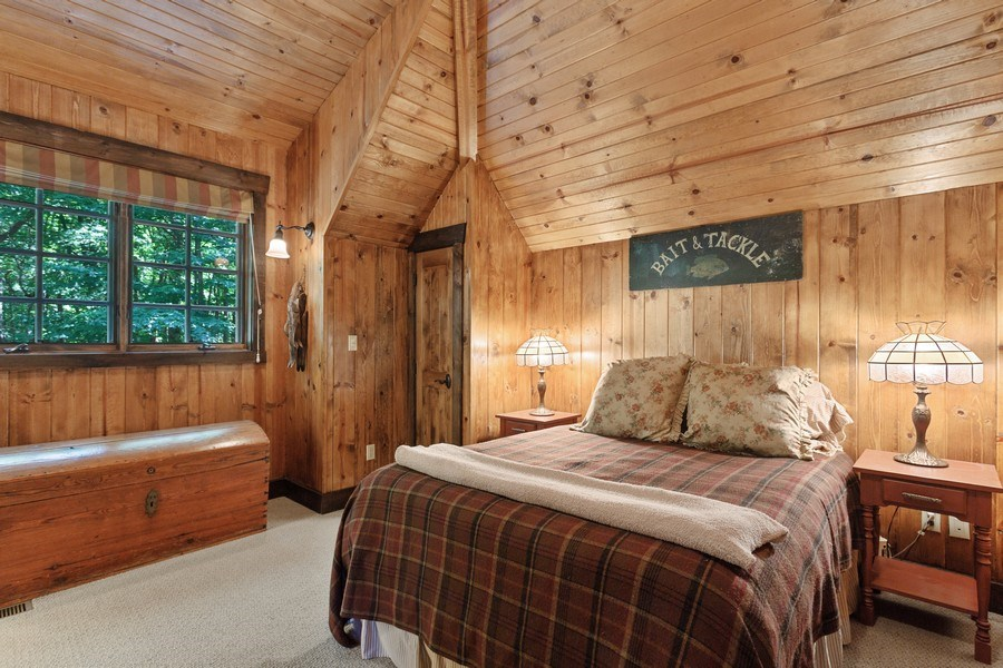 Real Estate Photography - 7020 Youngren Rd, Three Oaks, MI, 49128 - 2nd Bedroom Suite