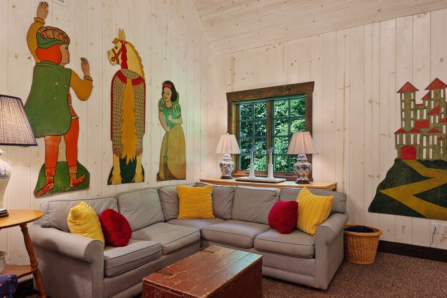 Real Estate Photography - 7020 Youngren Rd, Three Oaks, MI, 49128 - 4th Bedroom Bunk Suite Lounge Area