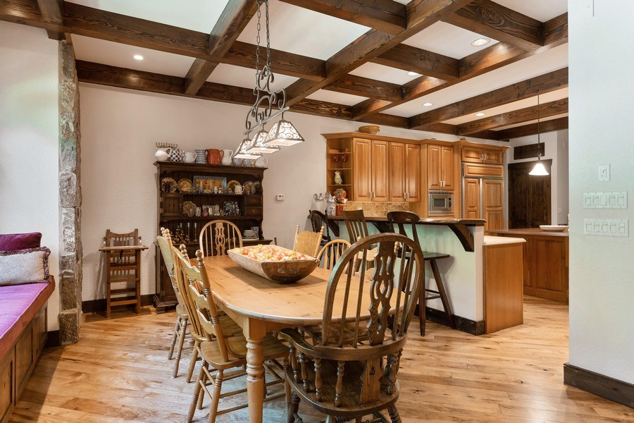 Real Estate Photography - 7020 Youngren Rd, Three Oaks, MI, 49128 - Dining Room