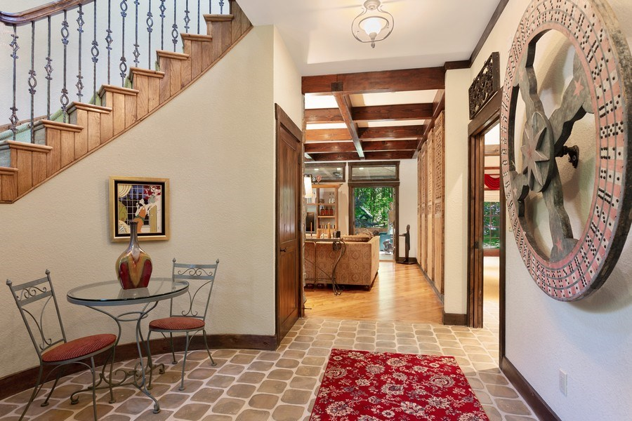 Real Estate Photography - 7020 Youngren Rd, Three Oaks, MI, 49128 - Front Foyer