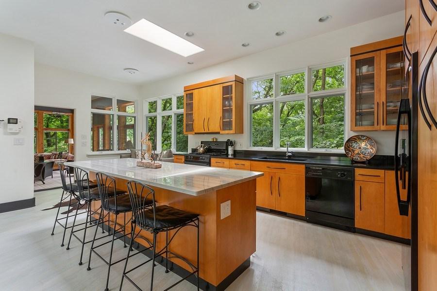 Real Estate Photography - 14458 Ridgeview Drive, New Buffalo, MI, 49117 - Kitchen