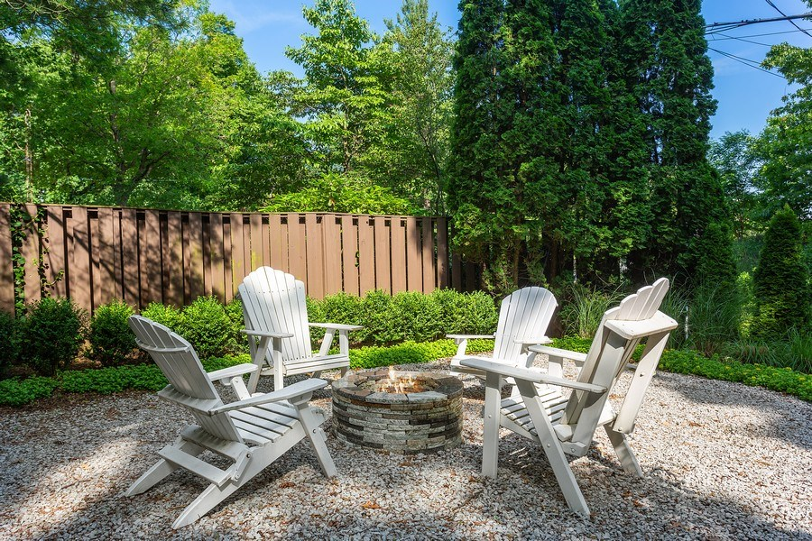 Real Estate Photography - 14458 Ridgeview Drive, New Buffalo, MI, 49117 - Outdoor Fire