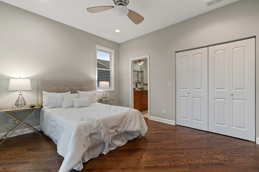 Real Estate Photography - 2217 W. Augusta, #2, Chicago, IL, 60622 - Master Bedroom