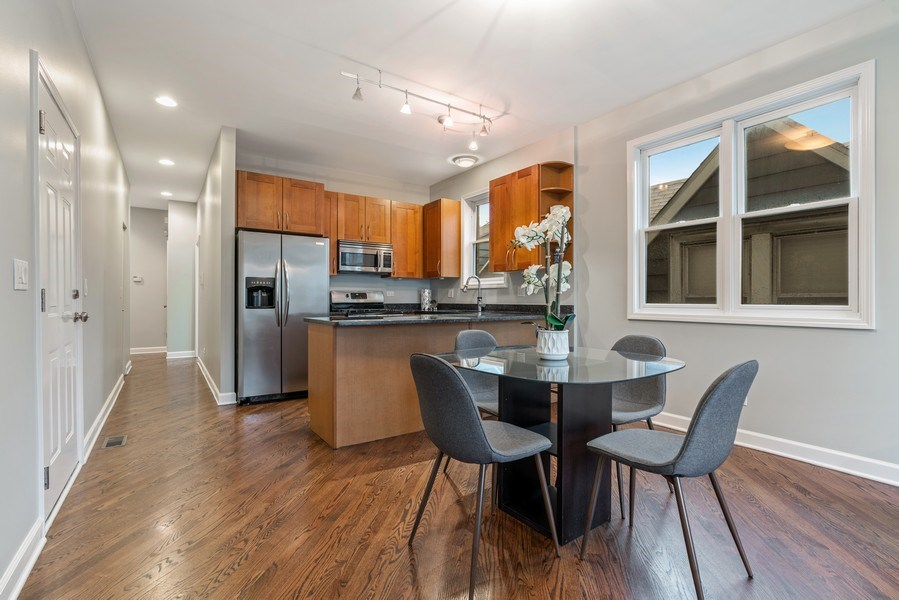 Real Estate Photography - 2217 W. Augusta, #2, Chicago, IL, 60622 - Dining Room