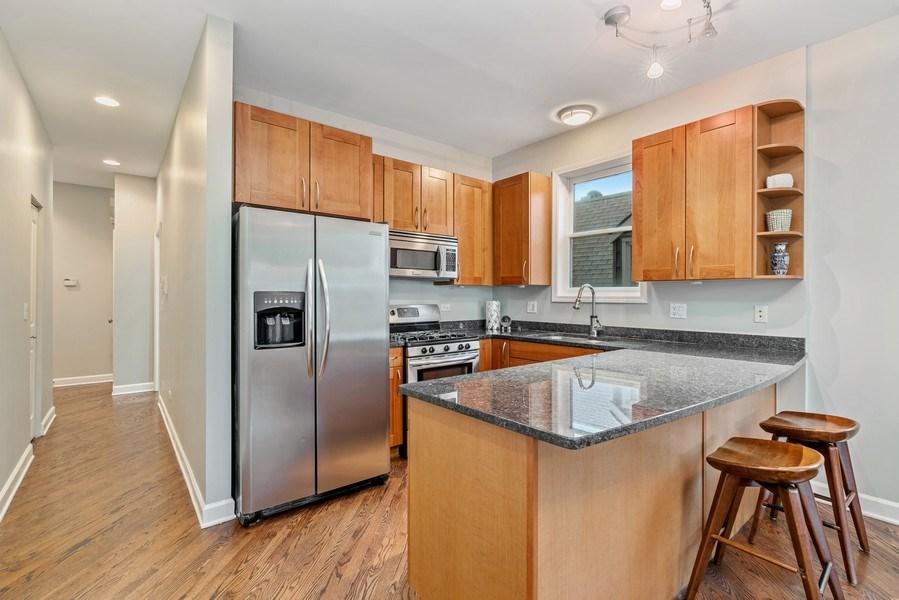 Real Estate Photography - 2217 W. Augusta, #2, Chicago, IL, 60622 - Kitchen