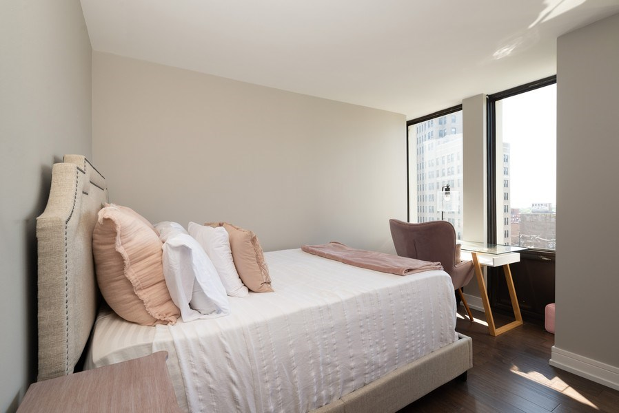 Real Estate Photography - 444 W Fullterton Ave, 1005, Chicago, IL, 60614 - Bedroom