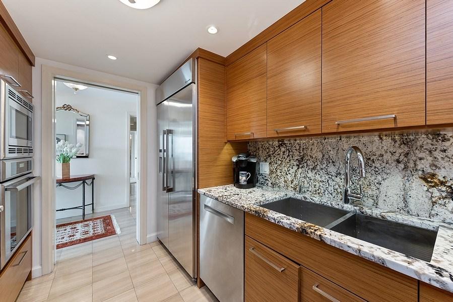 Real Estate Photography - 161 E Chicago Ave, Unit 43 C, Chicago, IL, 60611 - Kitchen